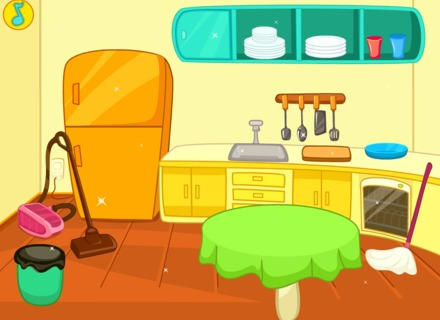 The Kitchen clipart kitchen cleaning Up Cleaning Art dazeatsea com