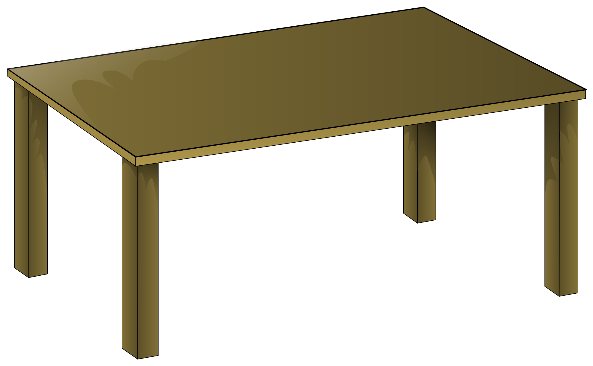 Desk clipart round And clipart Table Clipart Table