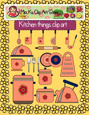 The Kitchen clipart kitchen thing Things (Small) and art Kitchen