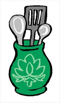 The Kitchen clipart kitchen thing Images Free Cooking Utensils Clipart