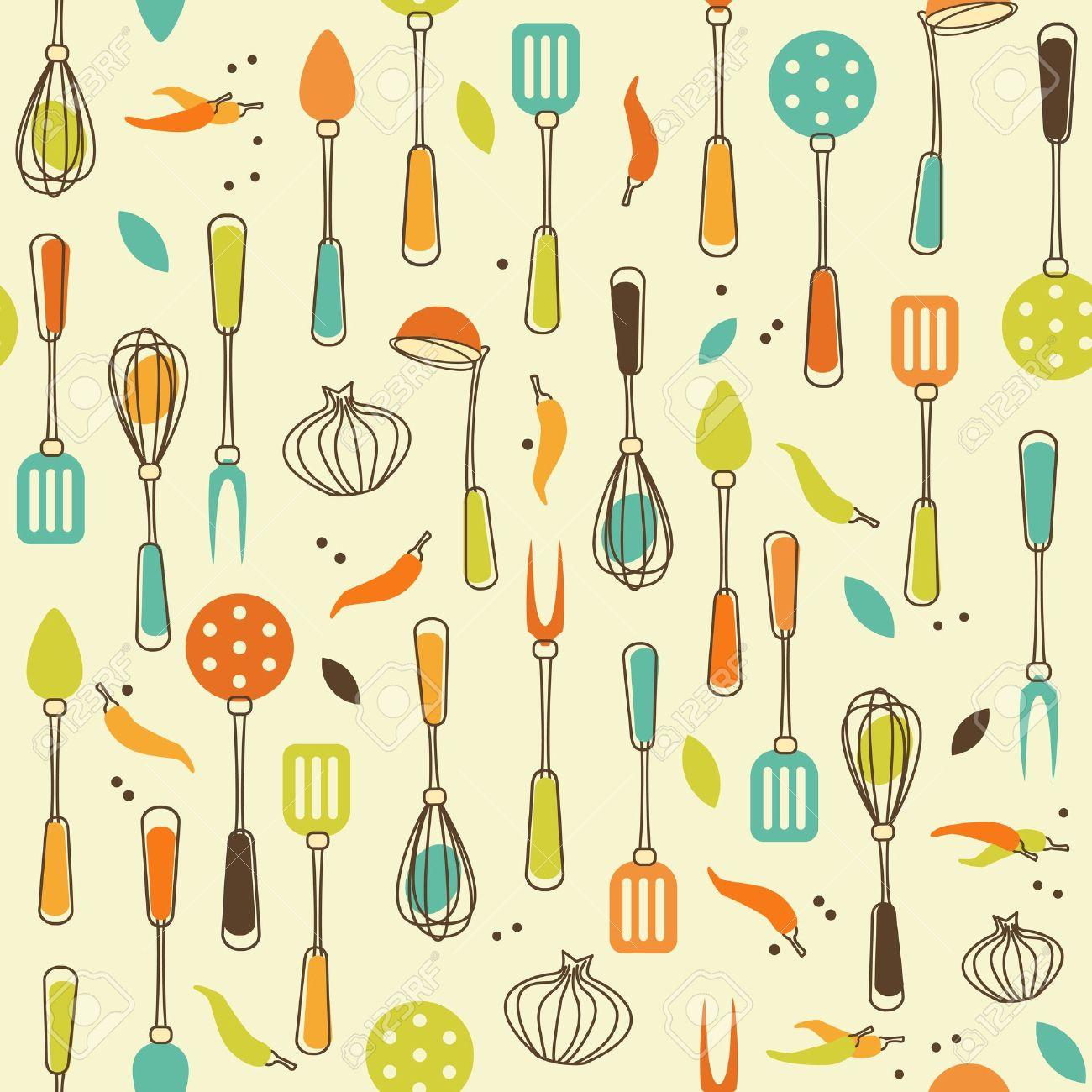 The Kitchen clipart kitchen tool Vintage Free Cliparts utensils