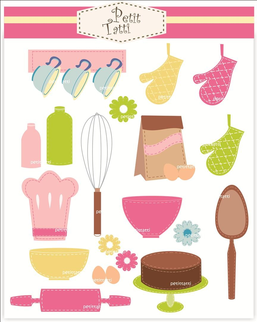 The Kitchen clipart kitchen tool Art all  Etsy cooking