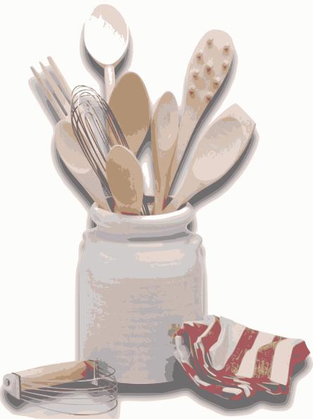 The Kitchen clipart kitchen tool Kitchen com Utensils image art