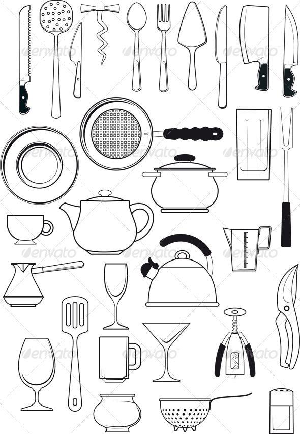 The Kitchen clipart kitchen tool 96 kitchen Kitchen Utensils images
