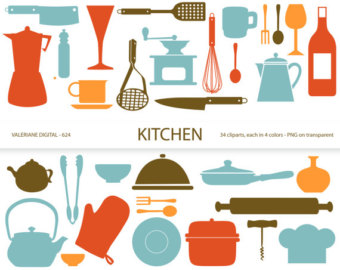 The Kitchen clipart kitchen tool Utensil Download Etsy for Free