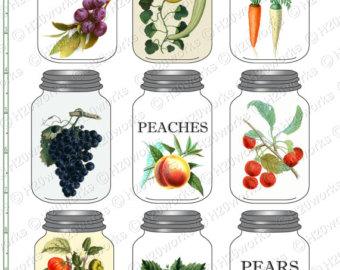 The Kitchen clipart preserves DOWNLOAD Kitchen FOOD Clipart Art
