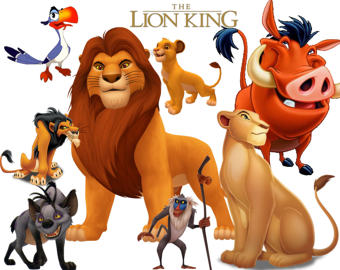 The Lion King clipart LION Disney's high of king