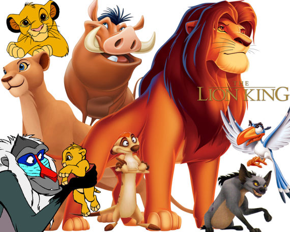 The Lion King clipart fiction BEST Clipart The clipart on