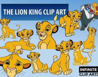 The Lion King clipart tarzan disney Graphic Clipart Digital Printable Etsy