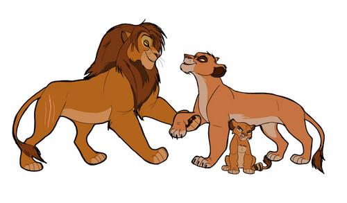 The Lion King clipart vitani Lion family King Lion King