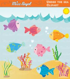 The Sea clipart Animals MissAngelClipArt Sea the scrapbook