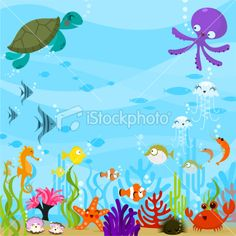 The Sea clipart sea plant Under The Clipart The Clipart