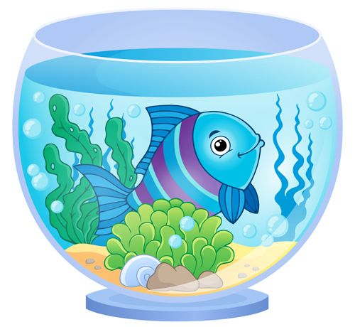 The Sea clipart aquarium animal Best set cartoon vector about