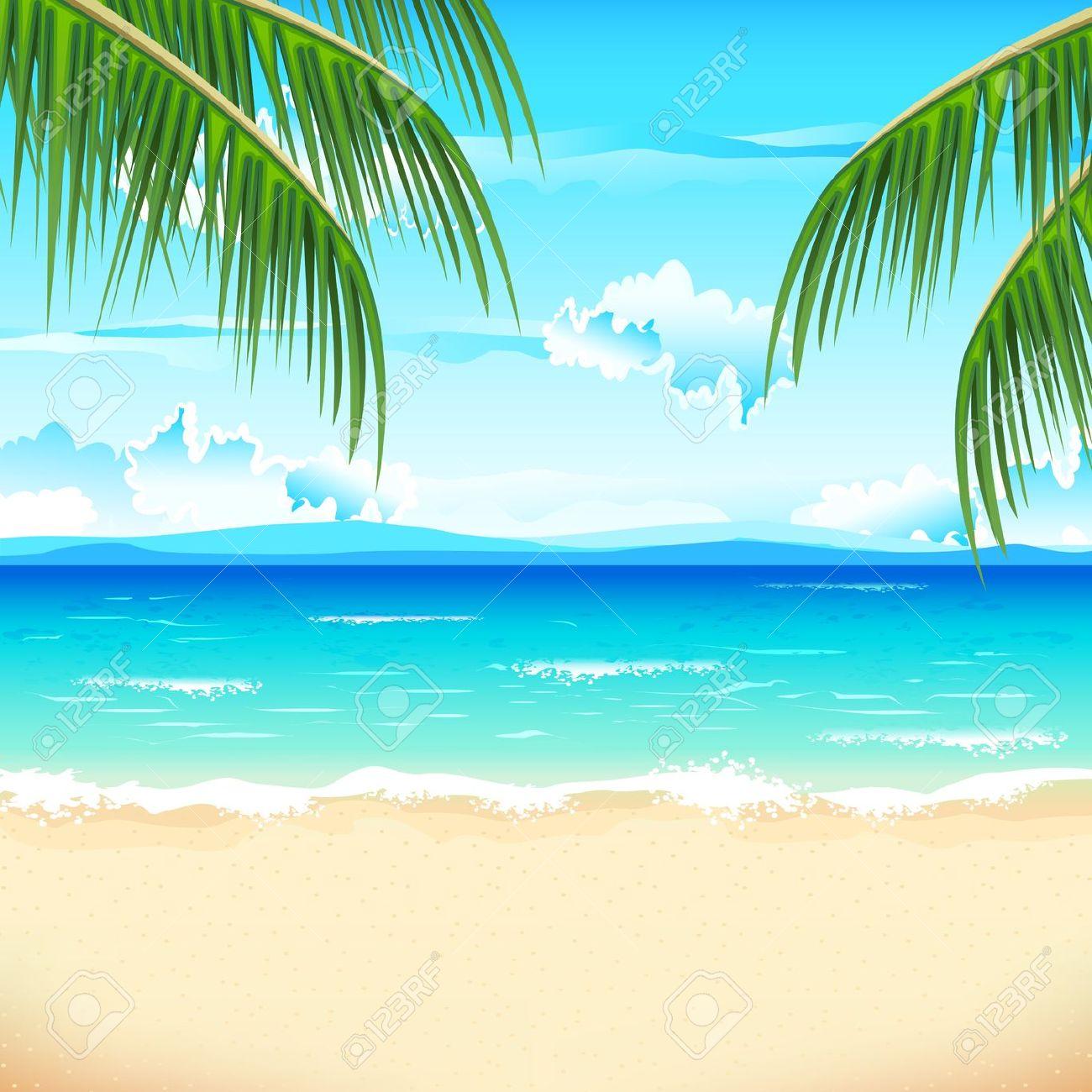 Scenery clipart seaside #7