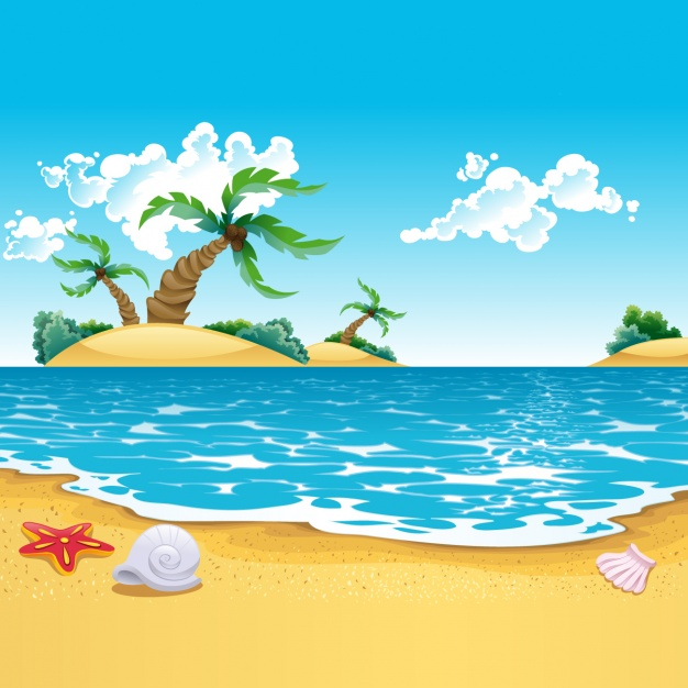 The Sea clipart beach background And collection PSD Beach Photos