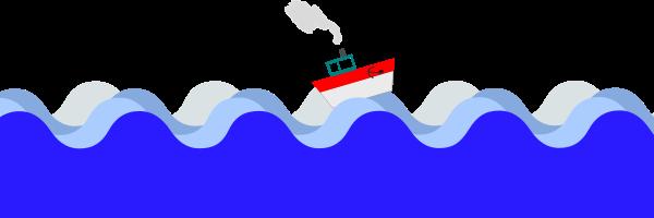 Sea clipart blue sea #1