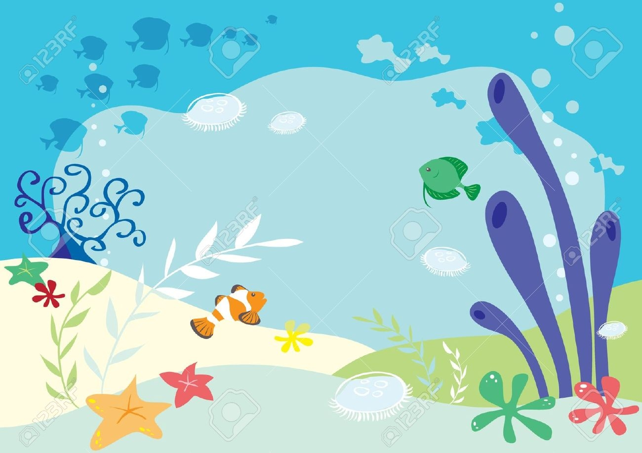 The Sea clipart border Sea art on Clip Free