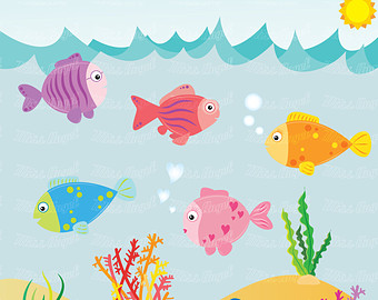 The Sea clipart coral Images CLIPART and fish Sea