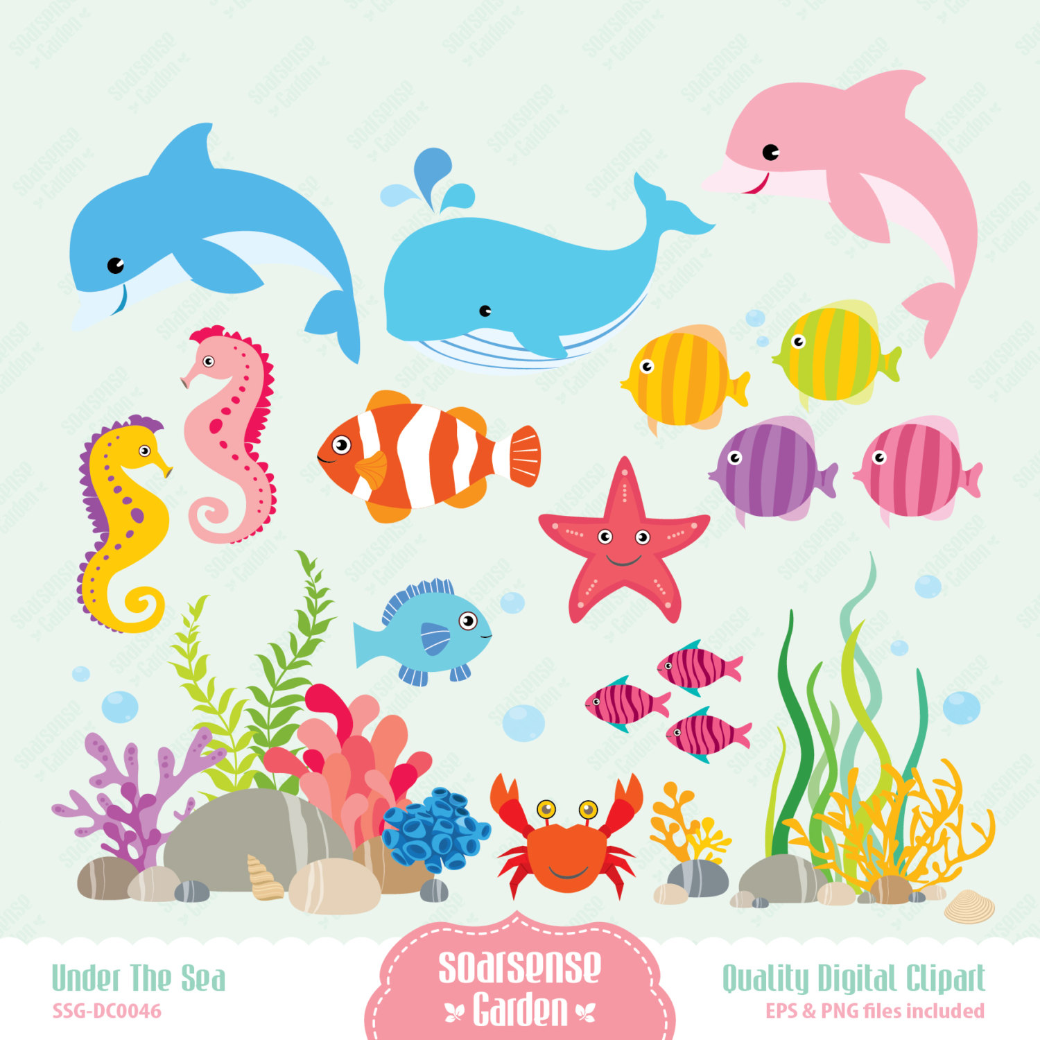 The Sea clipart coral Free Free on Clipart Clip