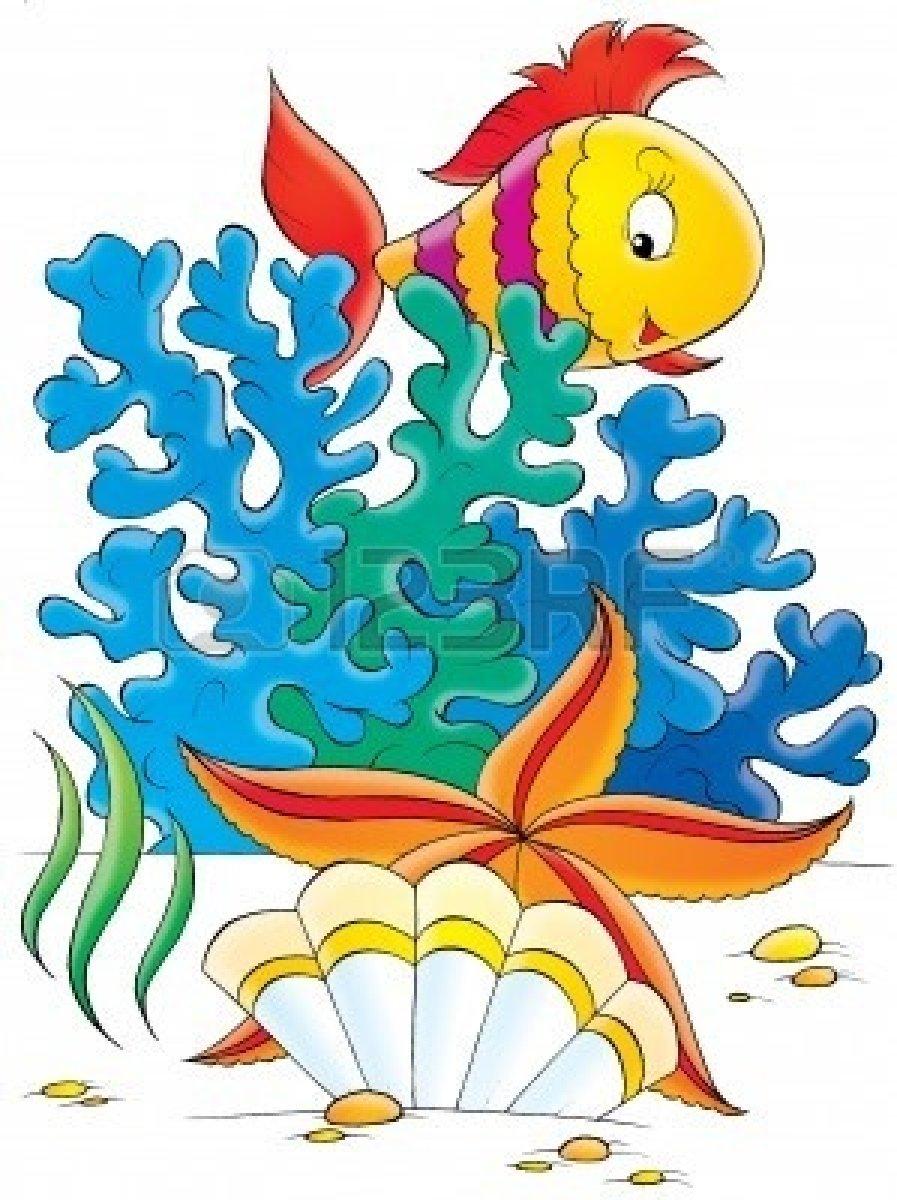 Seafood clipart under sea Fish Digital Art Sea Sea