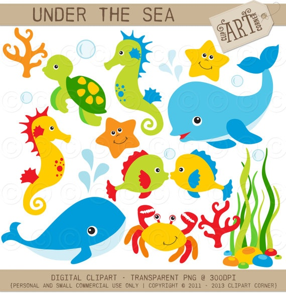 Sea clipart sea world #1