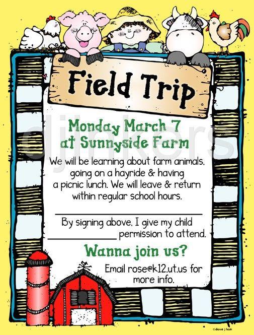 Word clipart field trip School clip Pinterest & about