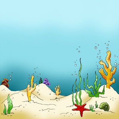 Sea Bed clipart underwate scene #1