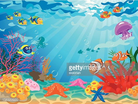 Sea Bed clipart underwate scene #2