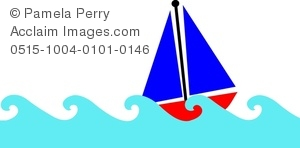 The Sea clipart ocean waves Art Sailboat Image on Image