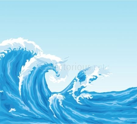 Monster Waves clipart water wave #7