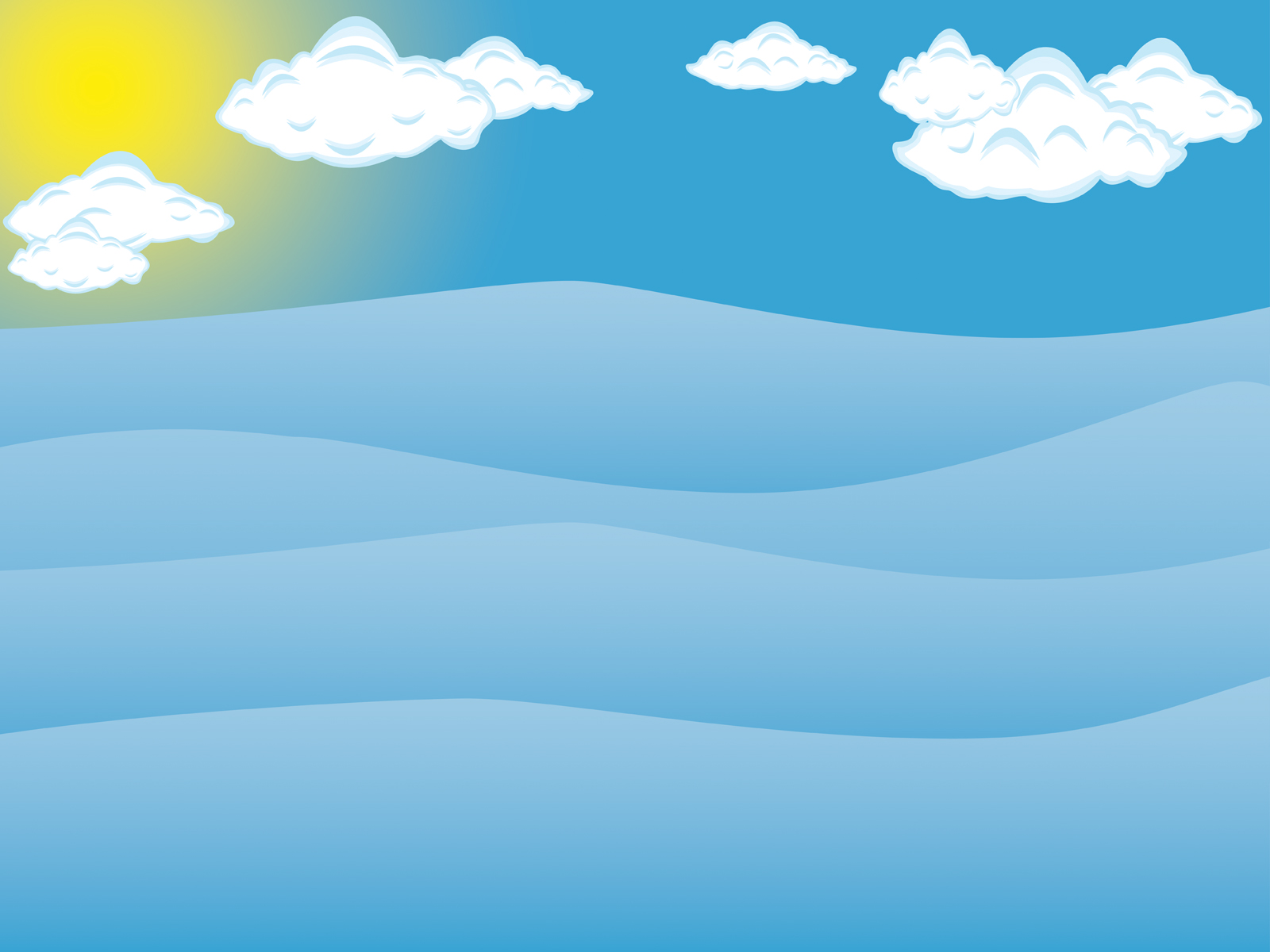 The Sea clipart powerpoint Blue Sea Backgrounds Design Sky