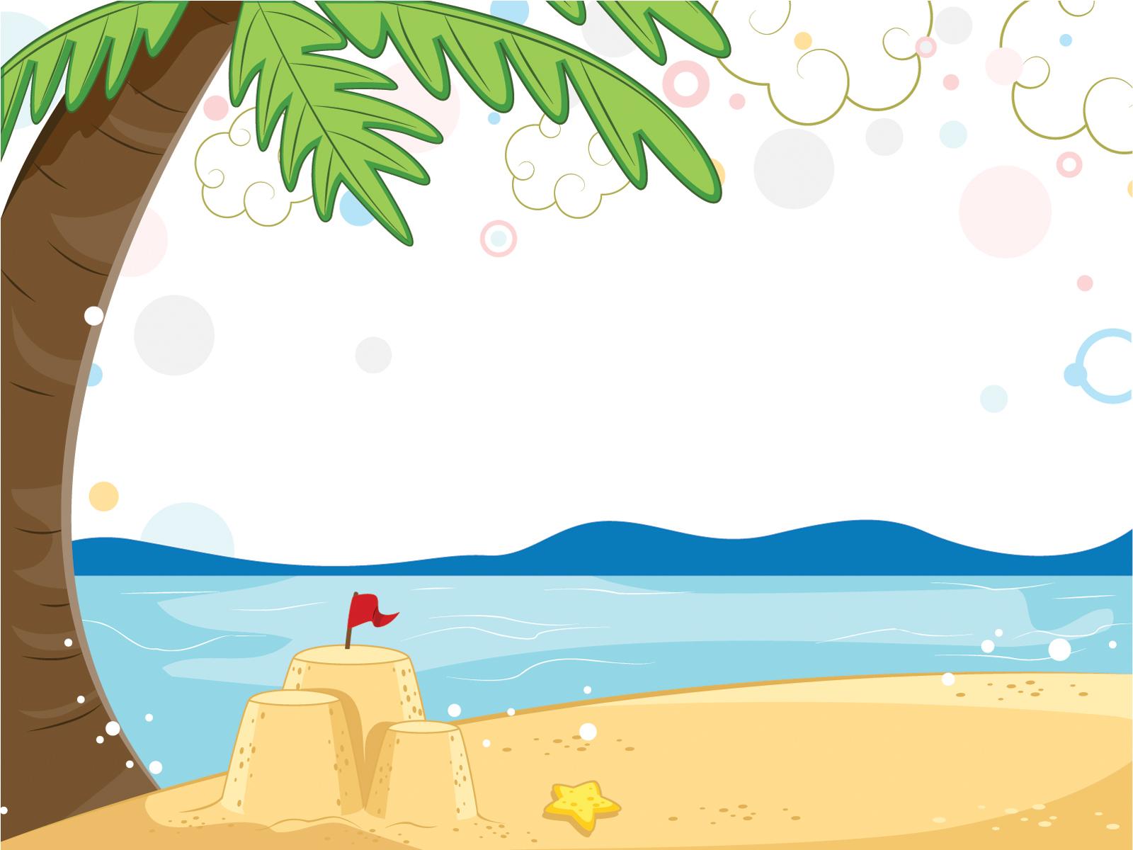The Sea clipart powerpoint Blue Wonderful Views Templates Views