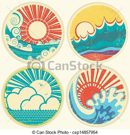 Sea clipart sun sea #1