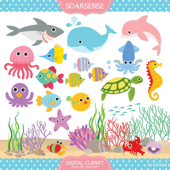 The Sea clipart under sea 126 Under crafts sea on