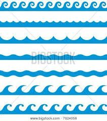 Sea clipart wave pattern #7