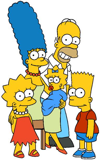 The Simpsons clipart Family Clip Simpsons Simpson Cartoon