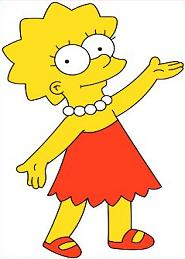 The Simpsons clipart Lisa Free The Tags: Simpson
