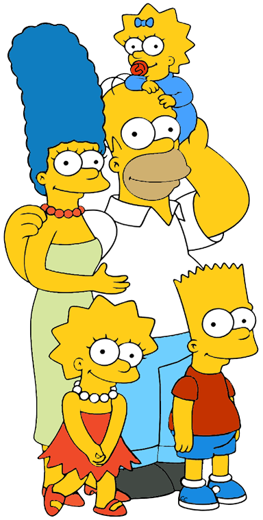 The Simpsons clipart Family Images family Simpson Clip