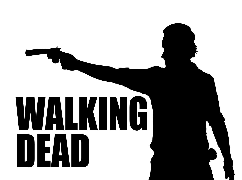 The Walking Dead clipart Walking Dead Walking vinyl cut