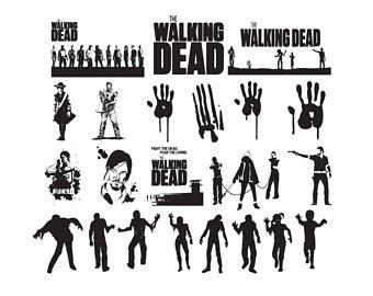 The Walking Dead clipart SVG dead Walking SVG Dead
