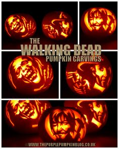 The Walking Dead clipart pumpkin carving pattern Pumpkin Stencils  Blog: Kids