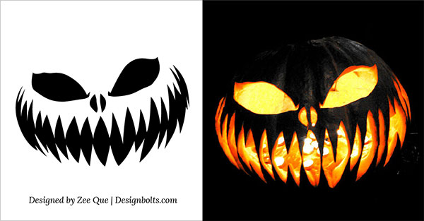 The Walking Dead clipart pumpkin carving pattern  Designs Carving Stencils Patterns