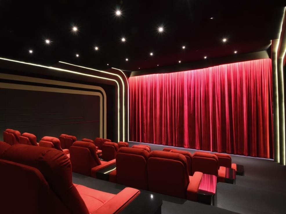 Curtain clipart home theater Theater One Theater of Curtains