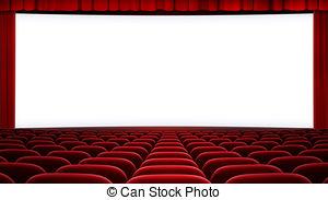 Theatre clipart cinema screen Illustration and 16:9) cinema Art