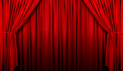 Curtain clipart animated 430 > 250 Clipart for