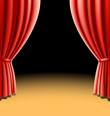 Curtain clipart curtain call Free Clip Curtains Download Clipart