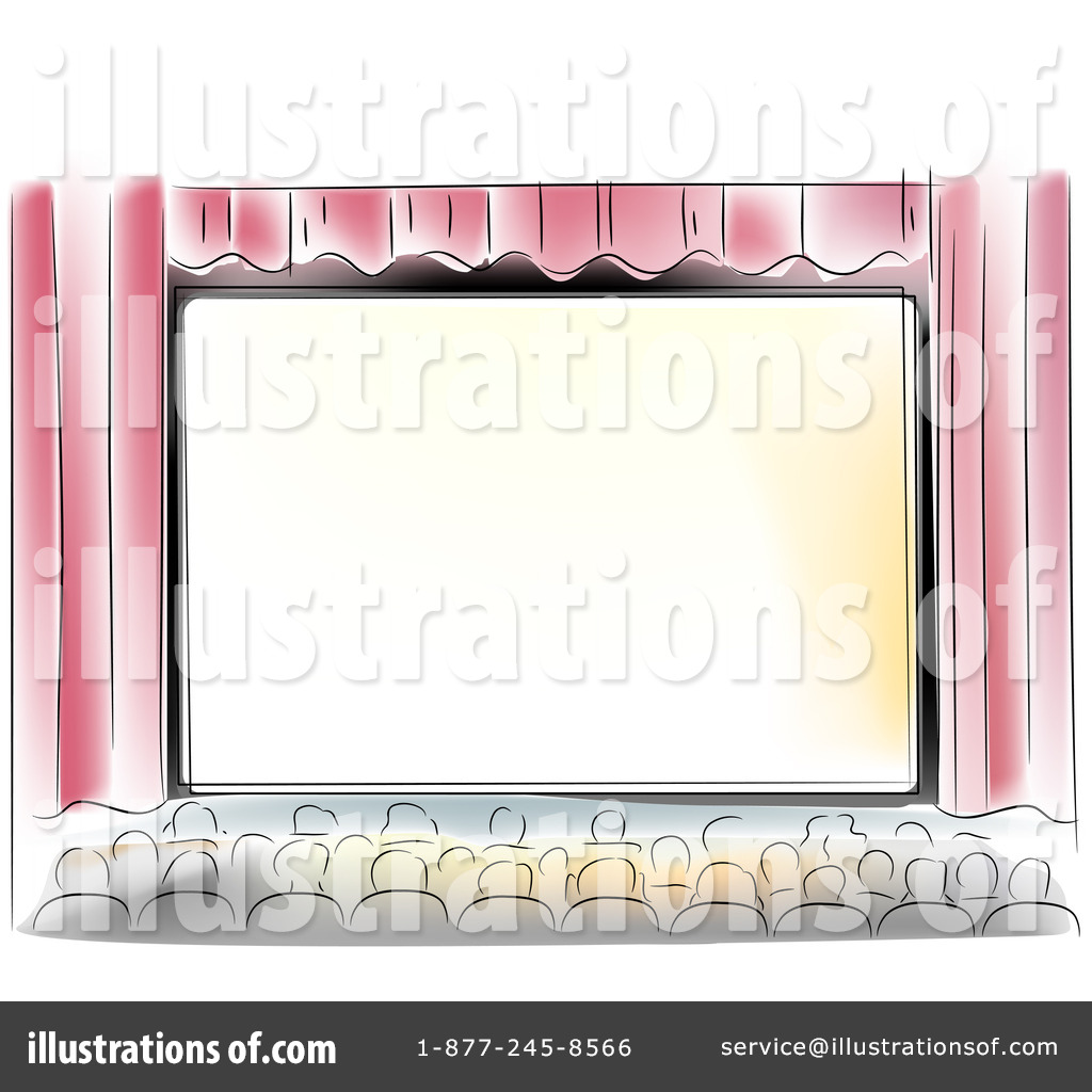 Theatre clipart colorful Studio by Movie Clipart Illustration