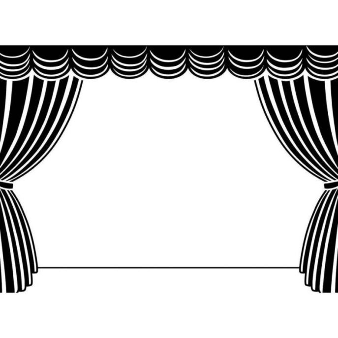 Curtain clipart theater light Word Curtains  Use Programs