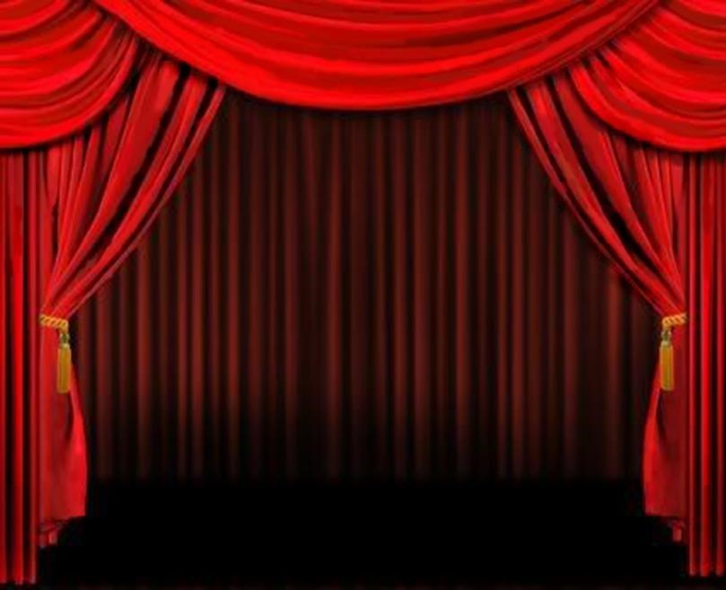 Curtain clipart animated Stage Curtains Full Drapes of