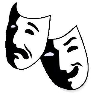 Theatre clipart drama Clipart collection Masks Drama Clipart